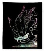 Bobble Fairy  Fleece Blanket