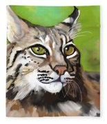 Bobcat Katta Fleece Blanket