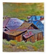 Bodie Ghost Town Fleece Blanket