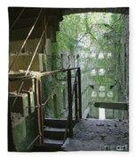 Bodmin Gaol Cornwall England Fleece Blanket