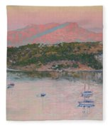 Bodrum.pink Sunrise Fleece Blanket
