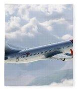 Boeing 737 Norwegian Air Fleece Blanket