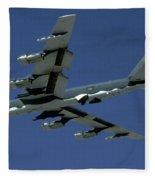 Boeing B-52 Stratofortress, 1950s Fleece Blanket