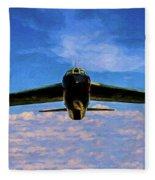 Boeing B-52 Stratofortress Oil Fleece Blanket