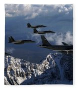 Boeing Kc-135 Stratotanker Fleece Blanket