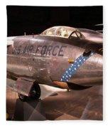 Boeing Rb 47h Plane Fleece Blanket