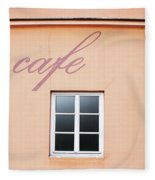 Bohemian Cafe- By Linda Woods Fleece Blanket