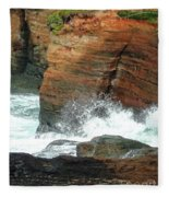 Boiler Bay Waves Fleece Blanket