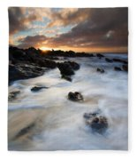 Boiling Tides Fleece Blanket