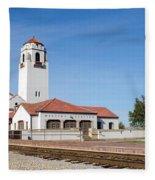 Boise Depot-elevation 2753 Fleece Blanket
