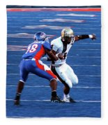 Boise State Great Gerald Alexander Fleece Blanket