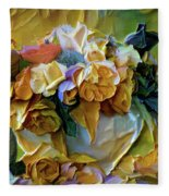 Bold Bouquet Fleece Blanket