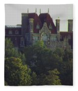 Boldt Castle 22 Fleece Blanket