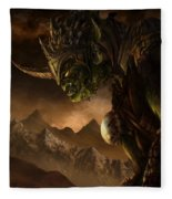 Bolg The Goblin King Fleece Blanket