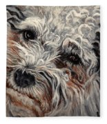 Bolognese Breed Fleece Blanket