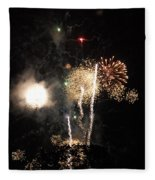 Bombs1 Fleece Blanket