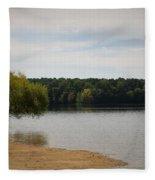 Bond Lake Beach Fleece Blanket
