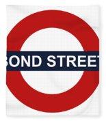 Bond Street Fleece Blanket