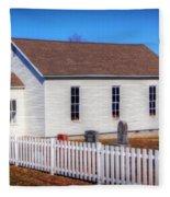 Bonds Chapel 1883 Fleece Blanket