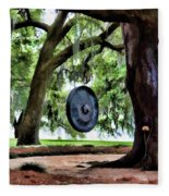 Bonggggg Rip Van Winkle Gardens Paint  Fleece Blanket
