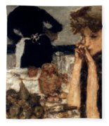 Bonnard: Breakfast, C1899 Fleece Blanket