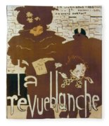 Bonnard Revue 1894 Fleece Blanket