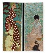 Bonnard: Women, 1891 Fleece Blanket