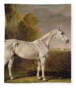 Bony Grey Nag Fleece Blanket