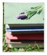 Book Fleece Blanket