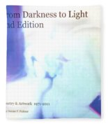 Book From Darkness To Light 2nd Edition Fleece Blanket
