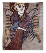 Book Of Kells: St. Matthew Fleece Blanket