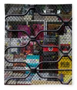 Books In Prison Fleece Blanket