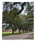 Boone Hall Plantation Fleece Blanket