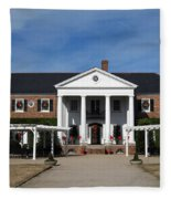 Boone Hall Plantation Charleston Sc Fleece Blanket