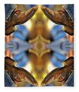 Boots Kaleidoscope Fleece Blanket