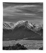Boreas Mountain And Siblings Fleece Blanket
