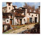 Borgo Di Montagna Fleece Blanket