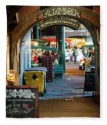 Borough Market Fleece Blanket