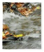 Boscobel Stream Fleece Blanket