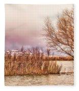 Bosque Winter II Fleece Blanket