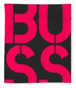 Boss-2 Fleece Blanket