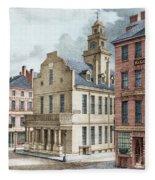 Boston, 19th Century Fleece Blanket