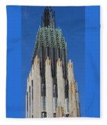 Boston Avenue Church 9 Fleece Blanket