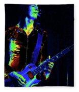 Boston Blues In Spokane Fleece Blanket