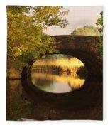 Boston Bridge Reflections Fleece Blanket