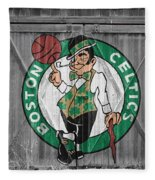 Boston Celtics Barn Doors Fleece Blanket
