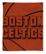 Boston Celtics Leather Art Fleece Blanket