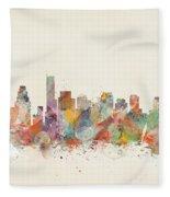 Boston City Fleece Blanket