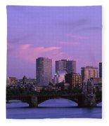 Boston Ma Fleece Blanket