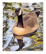 Boston Public Garden Goose Fleece Blanket